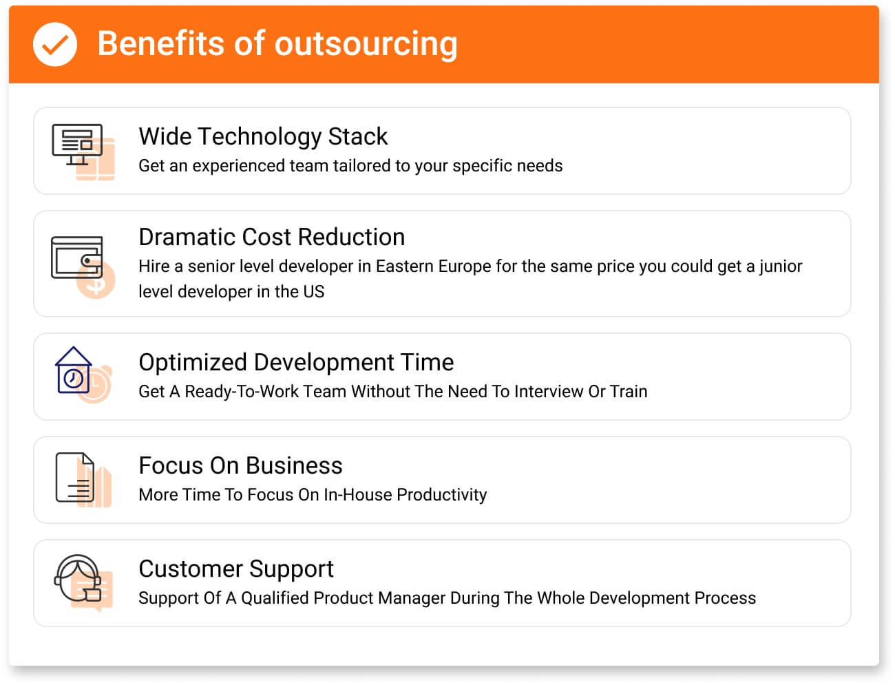 Benefits Of Outsourcing: Outsource Your Business App Needs